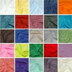 Solid Plain Coloured Dress Craft 100% Cotton Poplin Fabric Summer