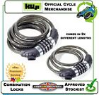 NEW KUJI COMBINATION LOCK SECURITY CABLE LOCKING STRONG SECURE CHAIN CYCLE RANGE