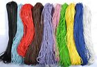 5M 100M Man-Made Leather Braid Rope Hemp Cord Thread For DIY Bracelets Necklace