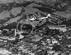 1935 PAN AM CHINA CLIPPER OVER UC BERKELEY PHOTO