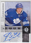 Joe Colborne 2011 11/12 UD Utimate signatures on-card auto RC-year Maple Leafs
