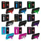 For Motorola Droid Mini XT1030 Color Hybrid Heavy Duty Skin Case Cover Stand