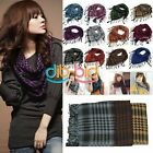 New Unisex Women Men Arab Shemagh Keffiyeh New Lady Scarf Shawl Wrap 9 Colors