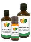 100% Natural Bergamot Essential Oil - Multi Siz, FREE P&P (Pure Aromatherapy)