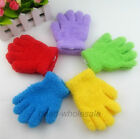 New Candy Color Children Soft Warm Gloves Kindergarten Dancing Gloves 3-6 years