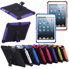 For New Apple iPad 5 iPad Air 2013 Heavy Durable Tradesman TPU Stand Case Cover