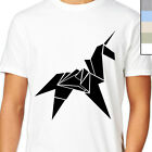BLADE RUNNER PAPER UNICORN T-Shirt. Cult Movie, Origami, Harrison Ford, Deckard