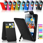 Leather Wallet Pouch Case Cover For Samsung i9100 Galaxy S2 SII Screen Protector