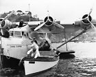 1937 Pan Am China Clipper at Catalina Island Vintage Photo
