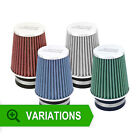 New ASH UNIVERSAL AIR FILTER 76mm NECK INDUCTION INTAKE CONE