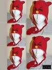 100% Wool Hand-knitted Earflap Cat Beanies Animal Accessories Wool Hat