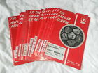LIVERPOOL HOME PROGRAMMES 1971/2 - CHOOSE FROM LIST