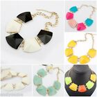 Hot Selling Elegant Necklace Geometry Mix-color Sweater pendant Necklace Collar