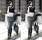 HO AU Autumn Winter Women Skirt Leggings Footless Cotton  Tights Stretch Pants