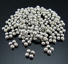 FREE Crafts Snowflake Tibetan silver Findings Pendant Charms Rondelle Beads 6MM