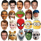 CELEBRITY FACE PARTY MASK FANCY DRESS HEN BIRTHDAY MASKS FUN STAG DO NIGHT NEW
