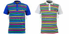 HENLEYS MENS STRIPED POLO SHIRT TEE TOP RRP £29.99