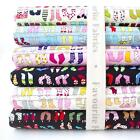 COLOURFUL LITTLE  SOCK  -  100% COTTON FABRIC childrens novelty STOCKINGS cute