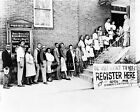 1948 NAACP VOTING at Antioch Baptist Church Photograph