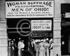 1912 CLEVELAND WOMEN'S SUFFRAGE OFFICE EUCLID AVE PHOTO