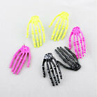 FASHION PLATED SKULL HAND STUD EARRINGS PUNK ROCK RETRO GOTHIC GIFT 6 Colors