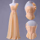 New Long Ladies Dresses Evening Bridesmaid Dress Formal Prom Gown in 4 Colors