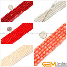 """Natural Flower Coral Jewelry Making loose gemstone beads strand 15"""" Yao-Bye"""