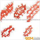 """Natural Stick Branch Pink Coral Jewelry Making loose gemstone beads strand 15"""""""