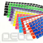 """New Waterproof Silicone Keyboard Cover Skin For All Apple Macbook 13""""15""""17"""" #$e"""