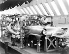 1955 FORD FACTORY WORKERS DEARBORN MICHIGAN PHOTOGRAPH
