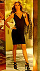 139 BOSTON PROPER LEATHER Strap Sheath Curvy Dress Rocker Party 2 4 6 8 10 12