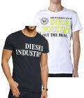 DIESEL JEANS MENS BOYS T-SHIRTS - REGULAR FIT TEE - T-NOLA - 100% ORIGINAL