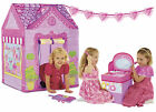 Choose from Love My Street Cottage, Cupcake Corner, Boutique, Post Office tents