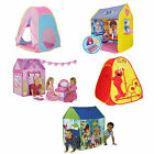 Choose from Childrens Pop up Play Tent Wendy House Playhouse Jake,Minnie, Pink