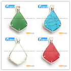 NEW fashion freefrom beads silver pendant 1 pcs FREE gift box +chain hot selling