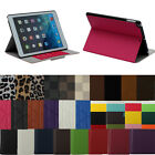 2014 Various For Apple iPad Air 5 4 3 Mini 2 Folio Faux Leather Case Cover Stand
