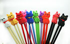 KIDS TRAINING CHOPSTICKS Child Helper Learning Gift Toy Cute Cat