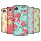 HEAD CASE DESIGNS NOSTALGIC ROSE PATTERNS CASE COVER FOR LG GOOGLE NEXUS 5 D821