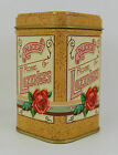 Lozenges Collectable Vintage Metal Trinket Box Small Metal Container