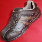 NEW Boy's Toddler's Kids SONOMA LIL FIN Brown Sneakers Velcro Casual Dress Shoes