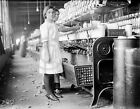 1913 COTTON MILL TEXAS CHILD LABOR YOUNG GIRL PHOTO