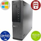 FAST Dell Desktop Computer Windows 10 PC Intel Dual-Core 2.9GHz 4GB RAM 160GB HD