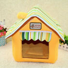 Soft Cozy Luxury Dog Cat House Pet Bed For Small-Medium Pets 5 colors
