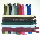 Opti Plastic Chunky Teeth Open Ended Zip - Choice of Colour and Length