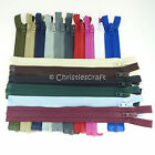 Coats OPTI Plastic Teeth Chunky Open End Zip - Choice of Colour & Length