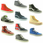 VANS~MENS~HI TOPS~TRAINERS~CHOICE OF 10 SUPER COLOURS/LATEST STYLES~SAVE ££'S