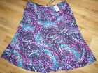 NEW WITH TAGS LADIES CLASSIC SKIRT MULTI MARKS & SPENCER