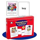 Homophones in Sentences Flash Card Super Duper Fun Deck Vocabulary Early Reading