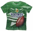 Minnesota Vikings TOUCHDOWN NFL Youth T-Shirt Shirt, Green
