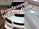Variochrome Pearlescent Pearl White/Pink Vehicle Wrap Vinyl Sticker Film Sticker